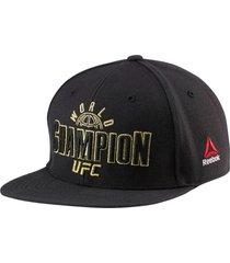 gorra negra reebok ufc champion