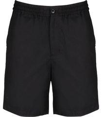 ami alexandre mattiussi elasticized waist shorts