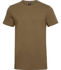 base-s r t ss t-shirts short-sleeved groen g-star raw