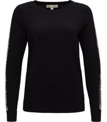 michael michael kors sweatshirt with logoed band