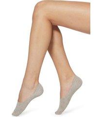 calzedonia glitter cotton invisible socks woman nude size 40-41