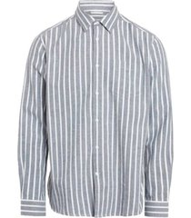 casual fit striped shirt total eclipse