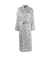 christopher kane robe com estampa sex - branco