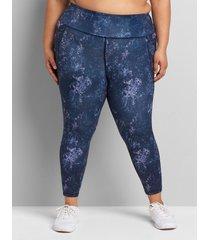 lane bryant women's livi high-rise soft capri legging 34/36 tictok