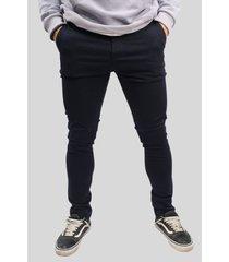 pantalón azul elliot white chino