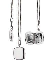 slim cushion viv locket necklace