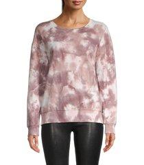 chance or fate women's tie-dye sweatshirt - pink sweet tie dye - size l