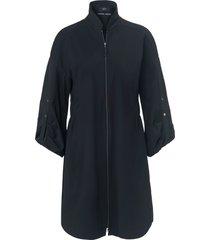 jurk 3/4-mouwen van marc cain zwart