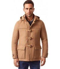 abrigo alps marrón new man