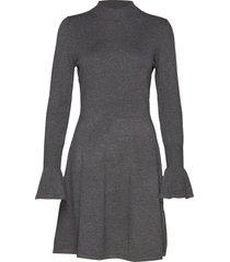 florentina dress stickad klänning grå inwear