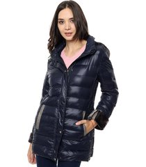campera azul etam oxford