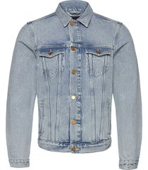 ams blauw trucker jacket - organic cotton -street beach jeansjacka denimjacka blå scotch & soda
