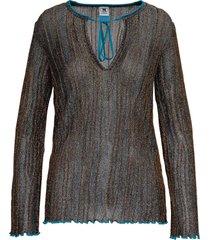 m missoni viscose blend lurex sweater