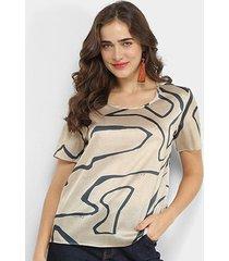 blusa carmim tshirt feminina
