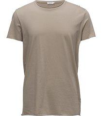 m. roll neck tee t-shirts short-sleeved beige filippa k