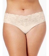 cosabella plus size never say never cutie low rise thong never0341p