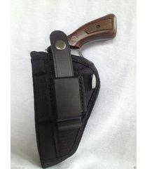 """ruger gp 100 (6 shot) 4"""" barrel/nylon owb belt gun holster"""