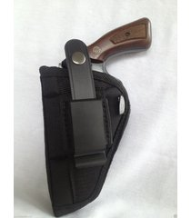 "ruger gp 100 (6 shot) 4"" barrel/nylon owb belt gun holster"