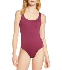 women's nike essential u-back one-piece swimsuit