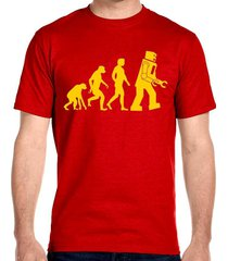 robot evolution t-shirt, big bang theory sheldon cooper