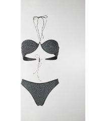 oséree shine balconette bikini