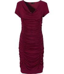 abito drappeggiato (rosso) - bodyflirt