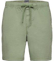 7'''' easy shorts with e-waist shorts casual grön gap