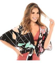 kimono estampado chamela 25625
