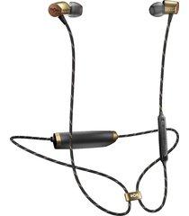 audifonos bluetooth marley uplift 2 original - negro/dorado