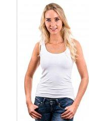 garage women singlet bodyfit white ( 0703)