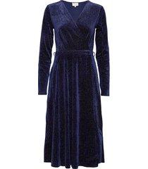 lizzie dress boozt jurk knielengte blauw minus