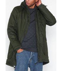 selected homme slhvinyl jacket b jackor mörk grön