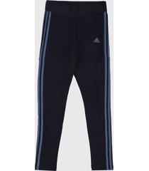 leggings negro-azul adidas performance essentials 3