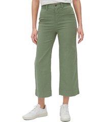 pantalón verde oliva gap