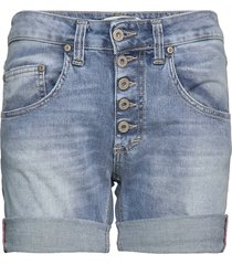 5b shorts light blu shorts denim shorts blå please jeans