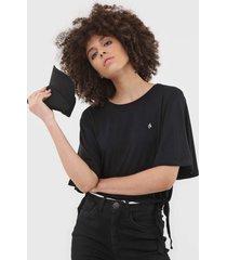 camiseta volcom coco ho preta - preto - feminino - dafiti