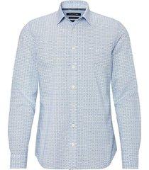 overhemd kent collar lichtblauw
