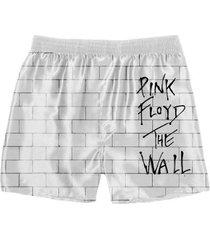 cueca samba canção rock pink floyd 3 masculina - masculino