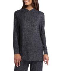 women's long sleeve wrap over hoodie