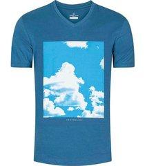 camiseta estampada slim fit para hombre 02680