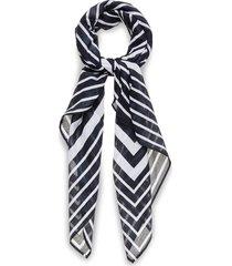 d2. g cotton sarong sjaal blauw gant