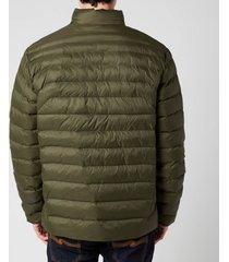 polo ralph lauren men's recycled nylon terra jacket - dark loden - l