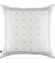 "tommy hilfiger bandana 20"" square decorative pillow bedding"