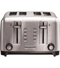 hamilton beach stainless steel professional 4 slice toaster