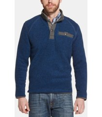 g.h. bass & co. men's arctic terrain classic-fit polar fleece sweater