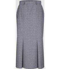 kjol paola silvergrå