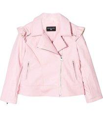 monnalisa pink jacket