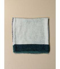 emporio armani neck scarf emporio armani scarf in viscose blend