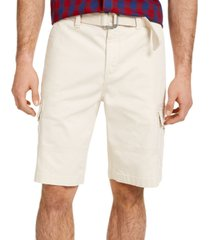sun + stone men's franklin cargo shorts, created for macy's