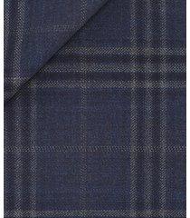 giacca da uomo su misura, vitale barberis canonico, pura lana super 120's twill blu, quattro stagioni | lanieri